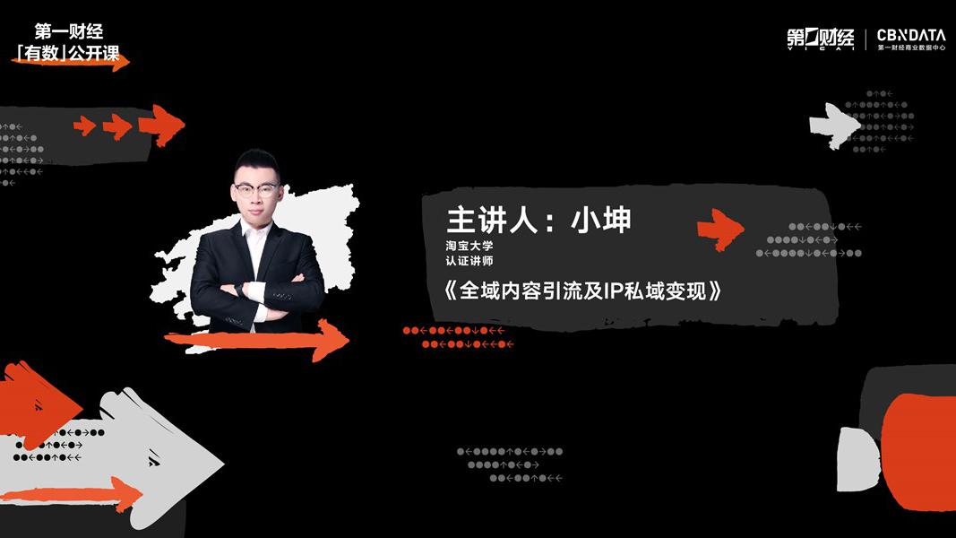 Part4.淘宝大学专场:全域内容引流及IP私域变现