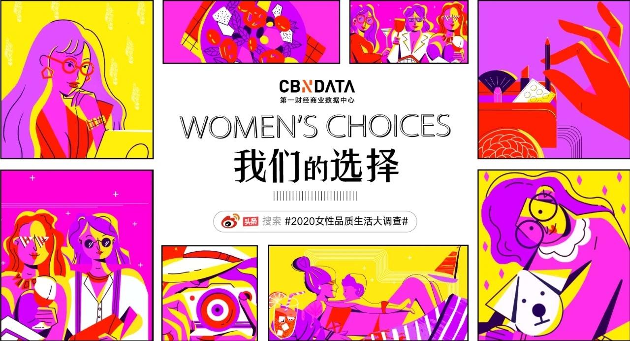 我们的选择 Women's Choices   2020女性品质生活大调查