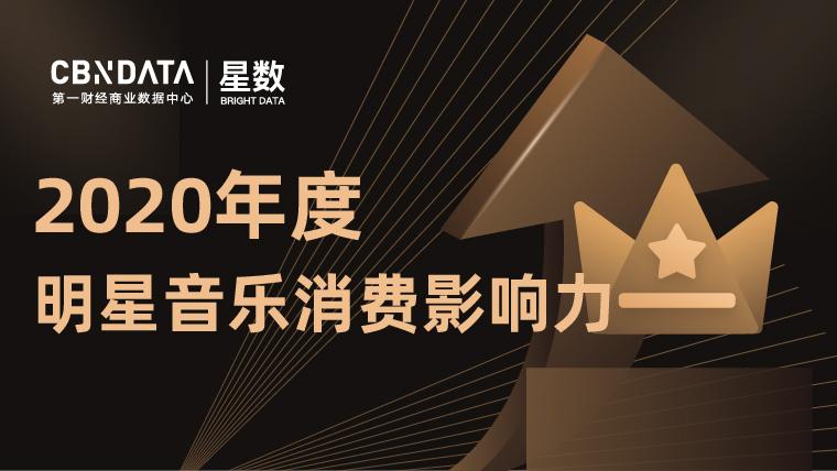 2020年度明星音乐消费影响力榜