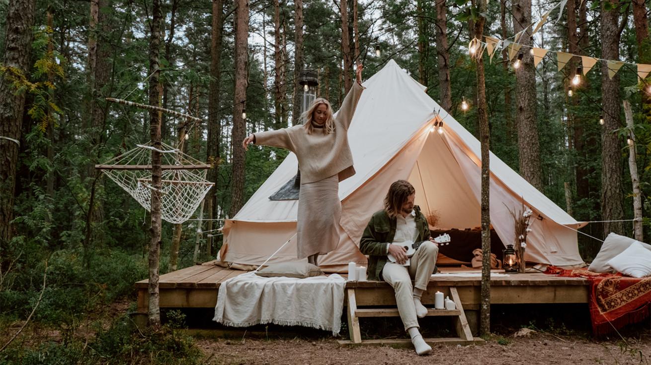 花14000元买帐篷,中产们掀起精致露营热