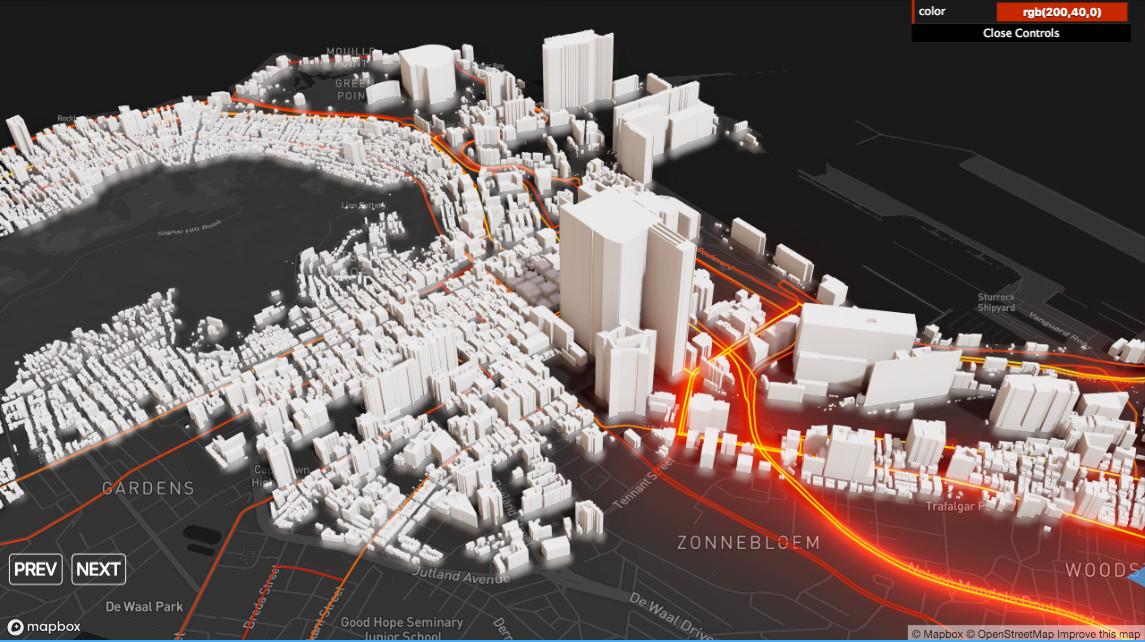 有了游戏级渲染技术加持,数据可视化竟能如此炫酷